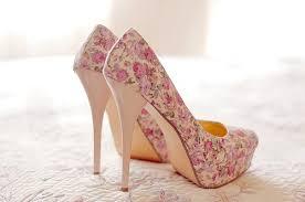 Kasut Zalora pretty floral heels shoes floral heels heels