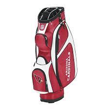 Arizona travel golf bags images Wilson nfl arizona cardinals cart golf bag red white jpg