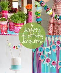 birthday decorations to make at home diy birthday decoration ideas home design 2017
