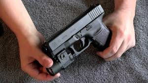 streamlight tlr 4 tac light with laser glock 30 with streamlight tlr 3 youtube