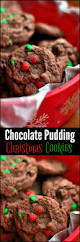 chocolate pudding christmas cookies aunt bee u0027s recipes