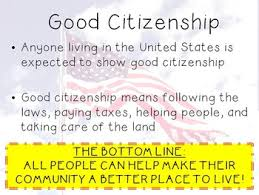 good citizenship powerpoint presentation by vanessa moran tpt