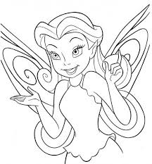 10 tinkerbell images drawings coloring sheets