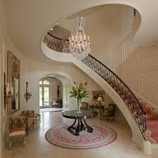 Lobby Stairs Design Traditional Staircase
