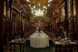 Dining Room Picture Of Peles Castle Sinaia TripAdvisor - Castle dining room