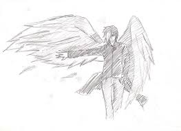 sketches for anime wing sketch www sketchesxo com