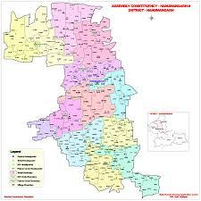 Mdc Map File Hanumangarh Rajasthan Assembly Map Svg Wikimedia Commons