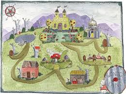 Map Of Neverland Fictional Cartography The Art Of Mapping Imaginary Settings