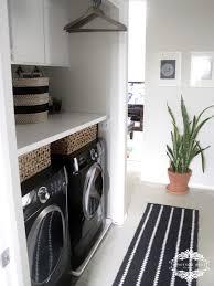 Laundry Room Clothes Rod Laundry Room Makeover Ideas Popsugar Home