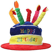 happy birthday hat home x plush happy birthday cake hat multi color
