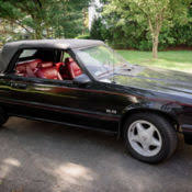 1983 mustang glx convertible value 1983 ford mustang 5 0 glx convertible only 57k for sale in