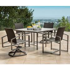 Modern Patio Dining Sets Ow Pacifica Modern Patio Dining Set With Flex Slings Ow