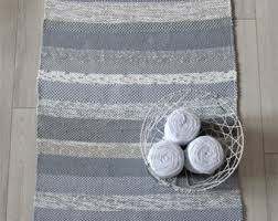 Woven Rugs Cotton Woven Rag Rugs Etsy