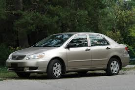 2003 used toyota corolla used toyota corolla 2003 2008 expert review