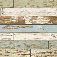 nuwallpaper salem vintage wood peel and stick wallpaper sle
