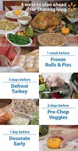 prep early to make thanksgiving a pumpkin pies