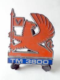 vauxhall griffin htf vintage vauxhall bedford tm 3800 truck badge classic retro car