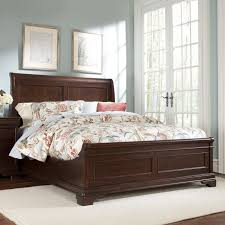 Bassett Bedroom Furniture Riverside Belmeade Arch Panel Bed Hayneedle