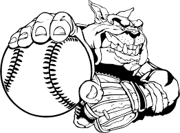 gamecock coloring pages baseball bulldog mascot decal sticker en4