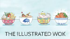 cuisine illustration the illustrated wok food like you ve never seen by the