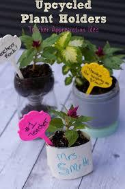 teacher appreciation ideas recycled planters close to home