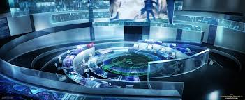 hunger games control room by rahll on deviantart
