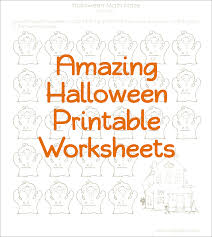 Halloween Activity Sheets And Printables Halloween Printable Worksheets