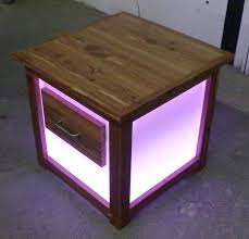 light wood end tables end tables designs modern lighted end table ideas light up coffee