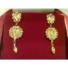 golden earrings golden earrings earrings manufacturer from kolkata