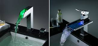 Bathroom Waterfall Faucet by Bathroom Sink Faucet Bathroom Waterfall Faucets At Junoshowers
