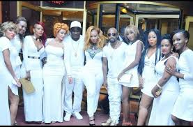 all white party how it went zari all white party photos