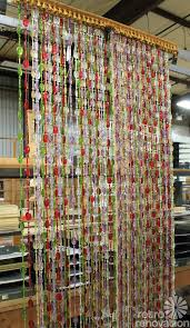 Plastic Cafe Curtains Beauti Vue Beaded Curtains Made In The Usa New Old Stock In 13