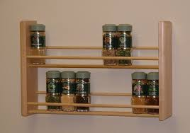 Door Mounted Spice Rack Under Cabinet Spice Rack Plans Home Design Ideas