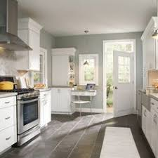 kitchen floor ideas with white cabinets kitchen with grey tile floor home decorating kitchen