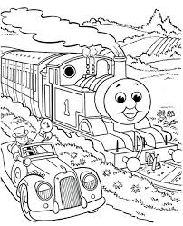luxury train coloring pages drawings thomas kinkade free