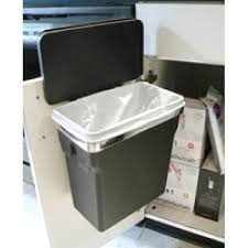 simplehuman in cabinet trash can changeablelife info