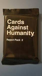 cards against humanity reject pack cards against humanity reject pack 2 ebay