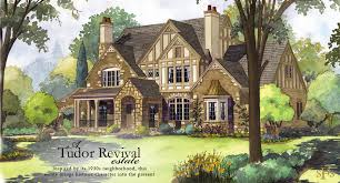 revival home plans stephen fuller designs tudor revival estate