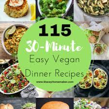 List Of Easy Dinner Ideas Stacey Homemaker I Make A House A Home