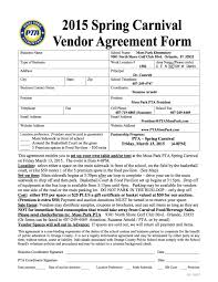 Vendor Contract Template 7 Download Supplier Agreement Template Virtren Com