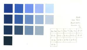 week 3 color chart u2014 painted and color aid monochromatic color