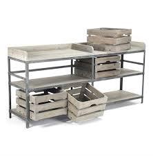 Corner Bakers Rack Ardsley Industrial Loft Grey Metal Bakers Rack Sideboard Kathy