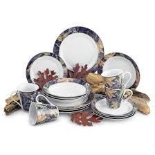 Dining Dish Set Dining Room Lovely And Sweet Mossy Oak Dinnerware For Dining