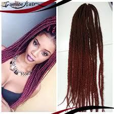 box braids hairstyle human hair or synthtic box braids hair crochet crochet hair extensions synthetic crochet