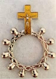 rosary rings rosary rings yellow metal