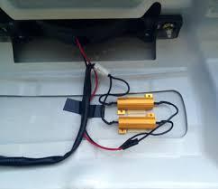 load resistors for led lights load resistor on led third brake light rx8club com