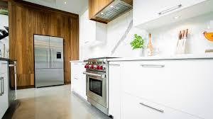 walnut modern kitchen modern kitchen in walnut u0026 mdf ateliers jacob calgary