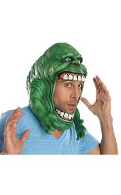amazon com ghostbusters slimer headpiece costume accessory toys