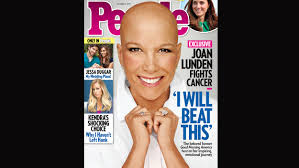 joan lunden appears on people magazine cover bald and beautiful