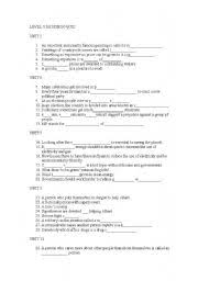 english teaching worksheets quizzes